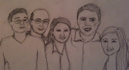 Sketch of my family