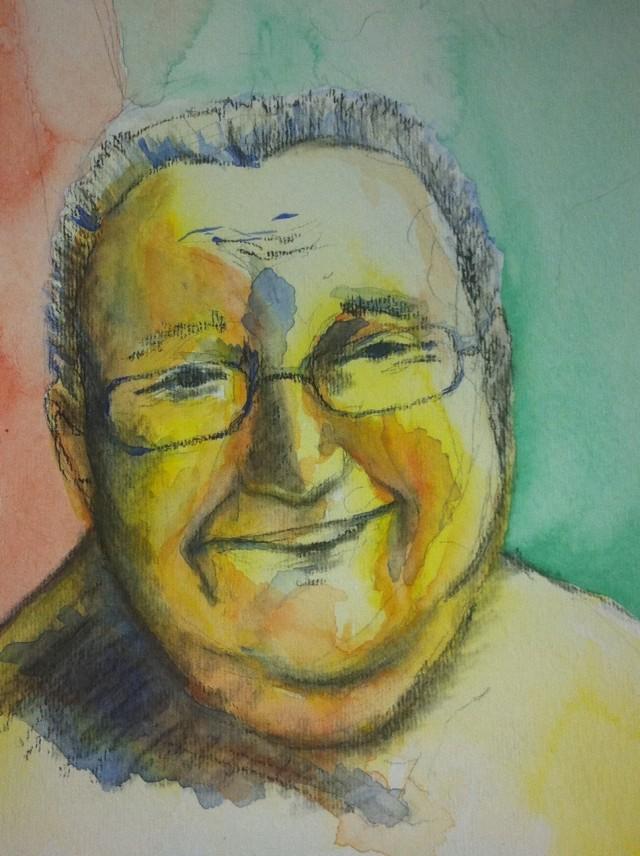 Watercolor by Maggie Sylva